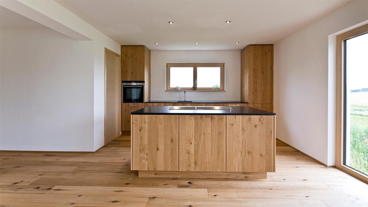 schreinerk che. Black Bedroom Furniture Sets. Home Design Ideas