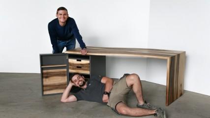 Schreibtisch_Nußbaum_Held Schreineei | Interior Design Freising München